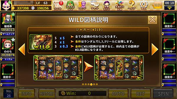 秘境探検~mask of the shine~WILD図柄